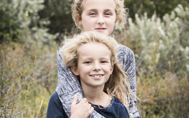 Portretfoto familieshoot Scheveningen